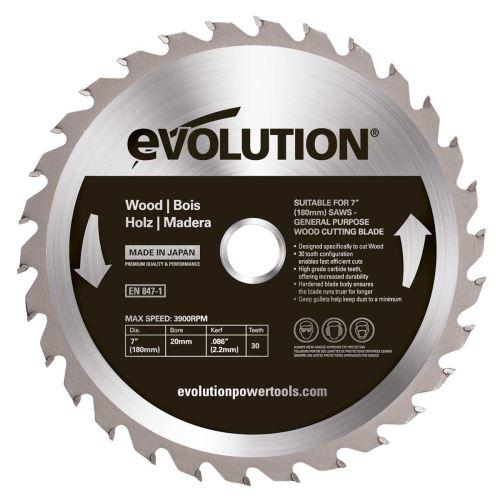 Kotouč Evolution EV018030, 180x20mm, 30zubů, na dřevo