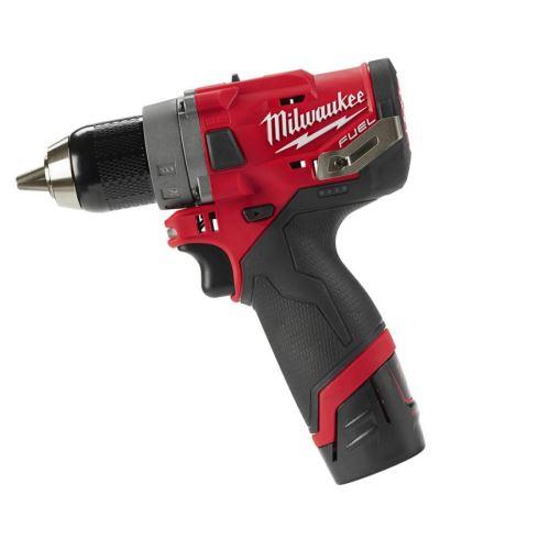 Aku Milwaukee M12 FDD-202X bezuhlíková vrtačka, 12V, 2x 2,0Ah, HDBox
