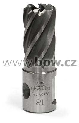 Jádrový vrták 18mm, hloubka 25mm, upínání Weldon 19