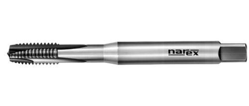 Strojní závitník Narex Ždánice M7x1 s přímou drážkou a lamačem, HSSE