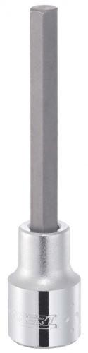 """Zástrčná hlavice 6mm 6hran prodloužená, 100mm, 1/2"""", Tona E031914"""