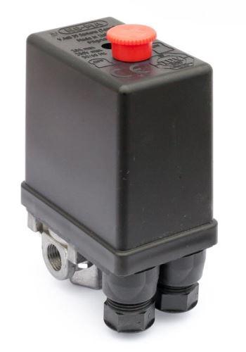 """Tlakový spínač NE-MA 230 V / 12 bar (4x1/4"""")"""
