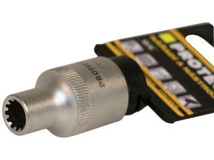 """Hlavice 11mm 1/4"""" SPLINE, Proteco 43.14-100-11"""