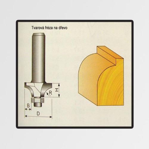 Tvarové fréza Stavtool do dřeva 3,17x3,17x7mm