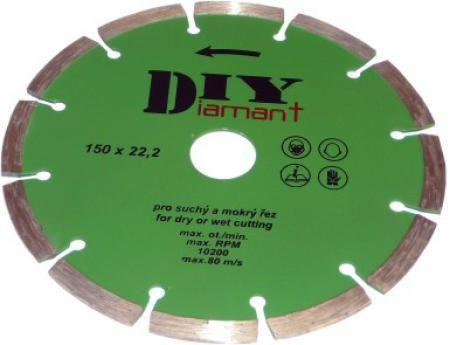 Diamantový kotouč Diy 60125000, 125mm, segmentový