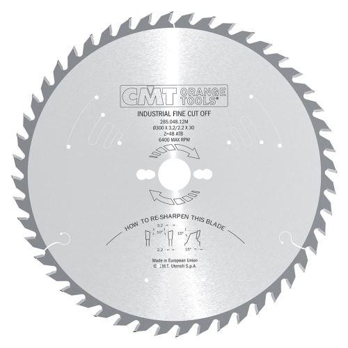 Pilový kotouč CMT C28504812M pro podélné a příčné řezy - 300 x 30 Z48