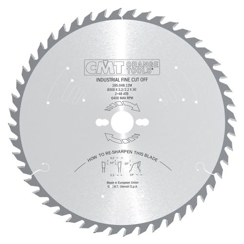 Pilový kotouč CMT C28505414M pro podélné a příčné řezy - 350 x 30 Z54