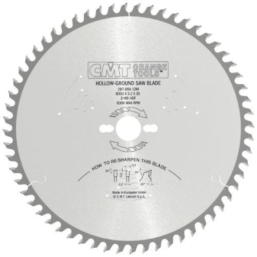 Pilový kotouč CMT C28703406H na lamino bez předřezu - 160X2.6/1.8X20 Z34
