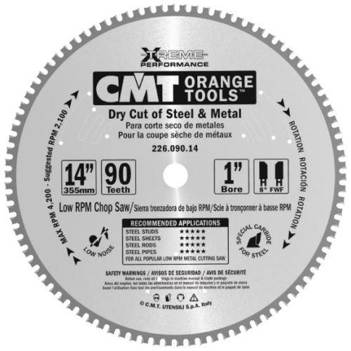Pilový kotouč CMT C22604809M na železo - D235x2,2x30 Z48