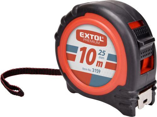 Metr svinovací Extol, 10m, š. pásku 25mm, EXTOL PREMIUM