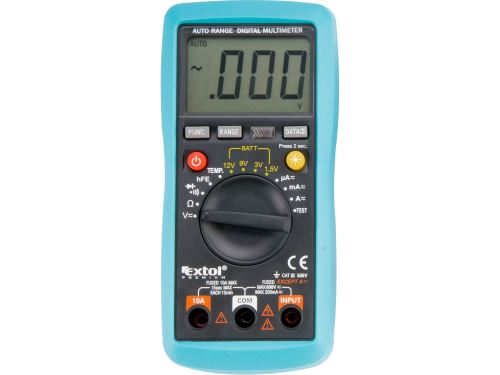 Multimetr digitální Extol 8831250 s automatickou volbou rozsahů