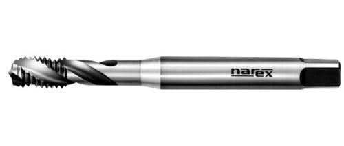 Strojní závitník Narex Ždánice M6x1 se šroubovitou drážkou 40°, HSSE