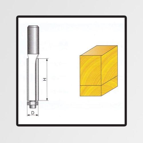 Tvarové fréza do dřeva 8x9x38mm