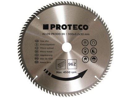 Pilový kotouč Proteco 42.09-PK300-96, SK plátky, 300 x 3,2 x 30/20mm 96z