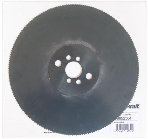 Pilový kotouč Metallkraft 3652504 na kov, HSS, 250mm, 200 zubů
