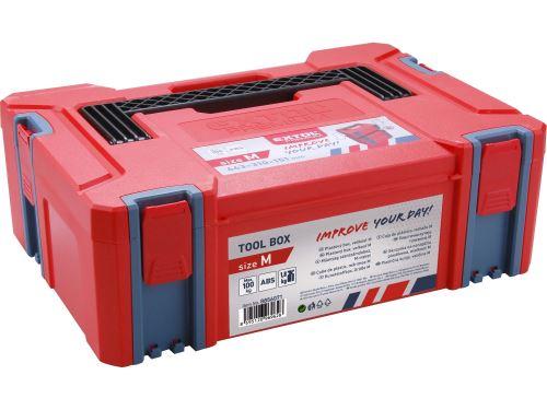 Plastový kufr Extol 8856071, velikost M, rozměr 443x310x151mm
