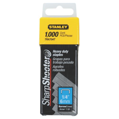 Spona Stanley 1-TRA704T, 6mm, 1000ks typ G