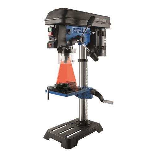Stojanová vrtačka Scheppach DP16SL, 550W, 230V, laser a svěrák v ceně
