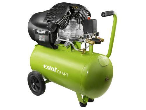 Kompresor olejový Extol 418211, 8 bar, vzdušník 50l