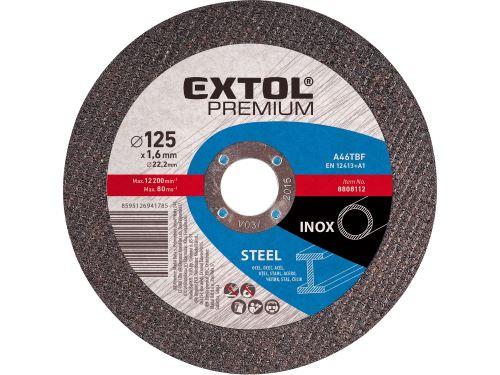 Kotouč řezný na ocel Extol 8808115, 150x1,6x22,2mm, EXTOL PREMIUM