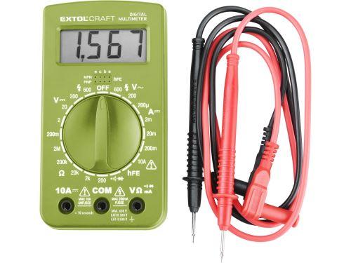 Multimetr Extol 600011 digitální (U, I, R)